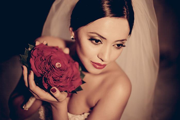 Платье принт оранжевые цветы с